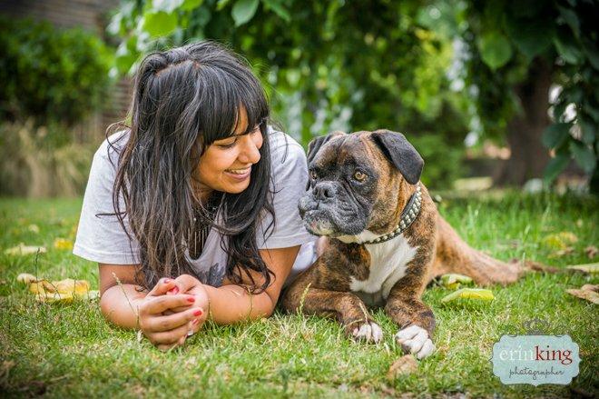Merrick and Tanya Boxer Pet Photography