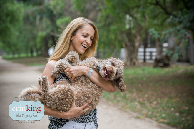 Mocha the Labradoodle's Pet Photography Session