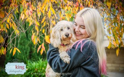 Gemma the Spoodle's Pet Photography Session