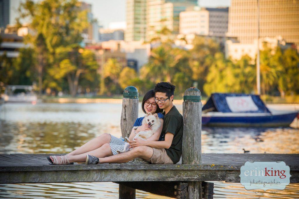 couple with dog Pet Photography Portfolio