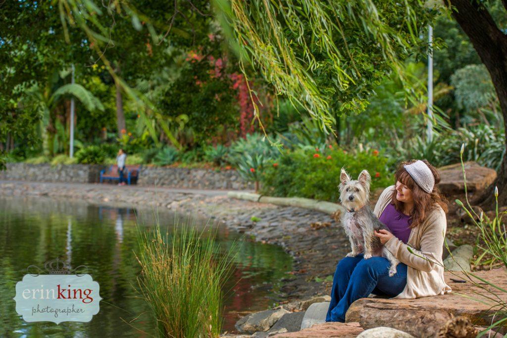 girl with dog Pet Photography Portfolio