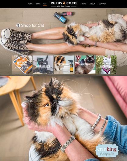 rufus & coco wee kitty litter